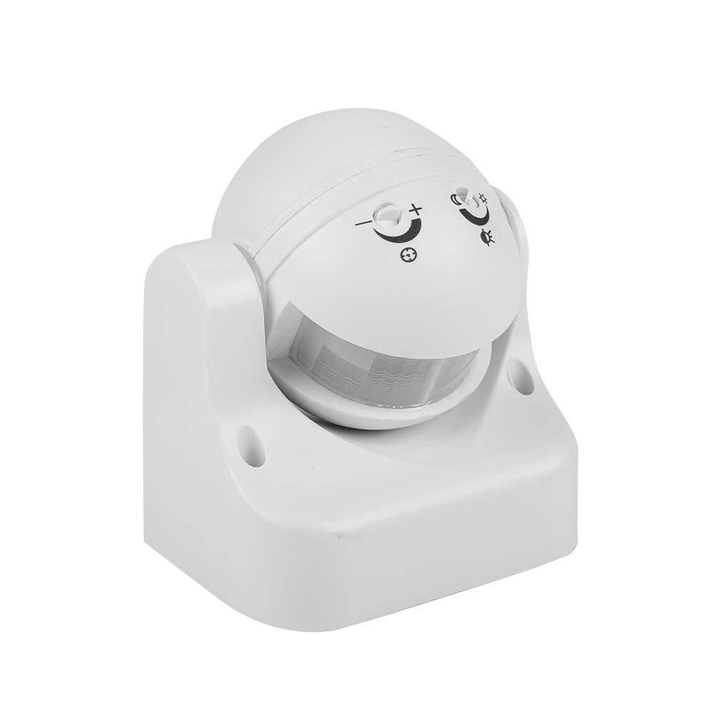 BDFA Sensor de Movimiento de Seguridad PIR de Infrarrojos con Interruptor de Sensor de Infrarrojos IP44 con Impermeable, a Prueba de Polvo, ángulo de inducción de 180 Grados: Amazon.es: Hogar