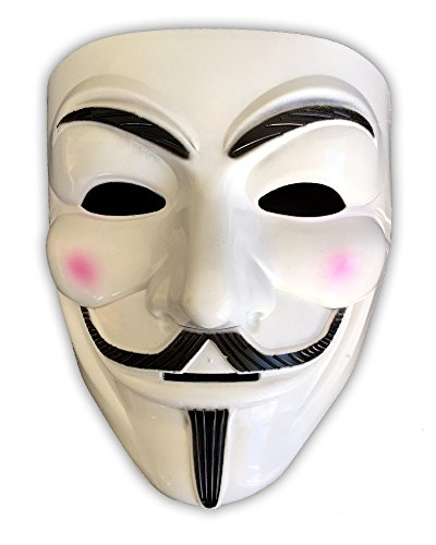 HAC24 Guy Fawkes Maske V wie Vendetta Anonymous Cosplay Halloween