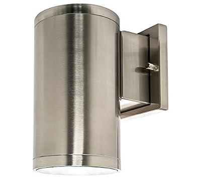 Westgate Lighting Outdoor Light - Bronze - Cast Aluminum - 120V - Waterproof IP65 - Dimmable - Ultra-Slim- CRI 80+ - COB technology