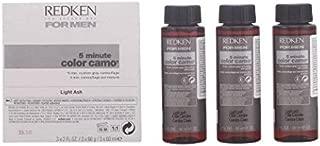 Redken For Men 5 Minute Color Camo - Light Ash 3 bottles 2oz each