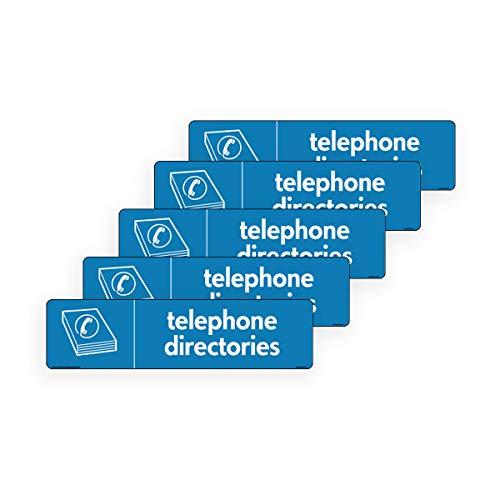 WRAP recicle directorios telefónicos icono directorio