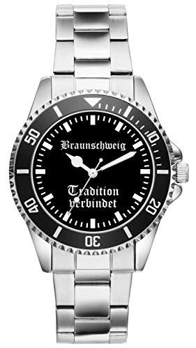 Braunschweig Geschenk Artikel Idee Fan Uhr 2007