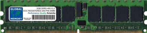 2 GB DDR2 400 MHz PC2-3200 240 Pines ECC Registered DIMM (RDIMM)...