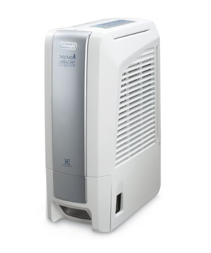 DeLonghi DNC 65 vollökologischer Luftentfeuchter mit 495 Watt