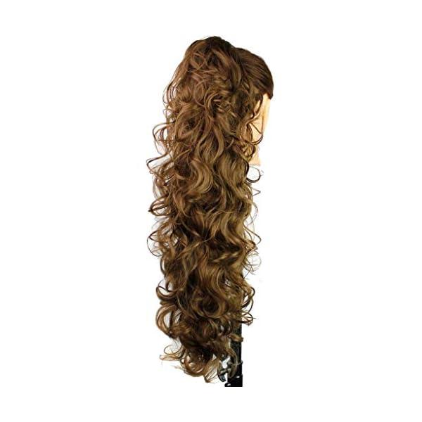 Beauty Shopping S-ssoy 31″(78cm) Women's Hair Piece Pony Tail Clip