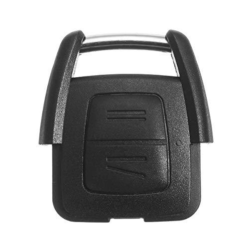 DFYYQ 433.92MHz 2 Botones Control Remoto Caso de la Caja de la Caja con Placa de Circuito para Vauxhall para Opel