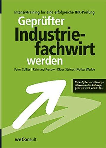 Geprüfter Industriefachwirt werden
