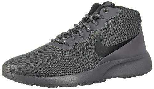 Nike Tanjun Chukka, Scarpe da Corsa Uomo, Grigio (Dark Grey/Black/Green Glow 002), 43 EU