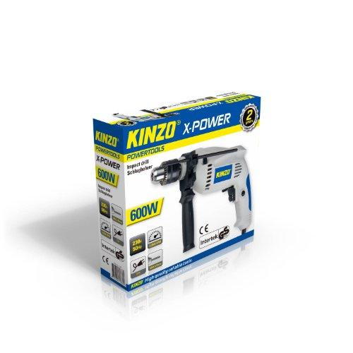 KINZO Impact drill 230 V 600 W gs, grau, 71786