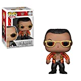 Funko POP! WWE: - The Rock Old School (Styles May Vary) Collectible Toy,Multi-colored,3.75 inches