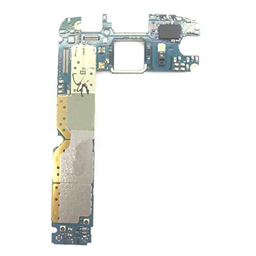 YANGLY En Forma Fit For El Samsung Galaxy S6 G920A 32 GB Desbloqueado Placa Base Europa Versión Android OS Sistema De Lógica Mainboard Pieza Repuesto teléfono Celular Placa Base