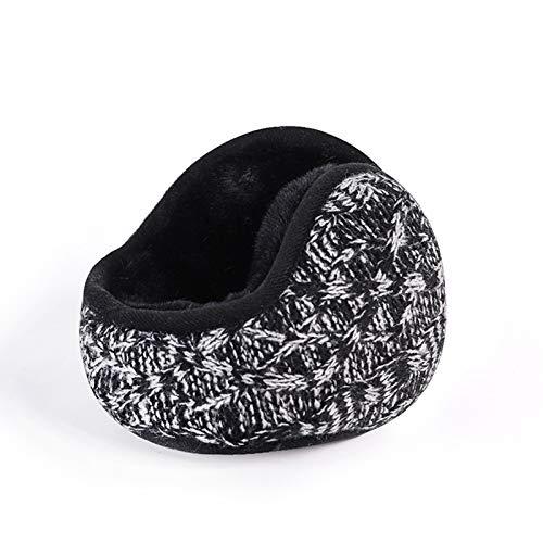 ZLSANVD Ohrmuffen für Männer Frauen, Winterohrwärmer hinter dem Kopfstil, kaltes Wetter weiche Fleece-Ohrenschützer, Skifahren, läuft (Color : 01)