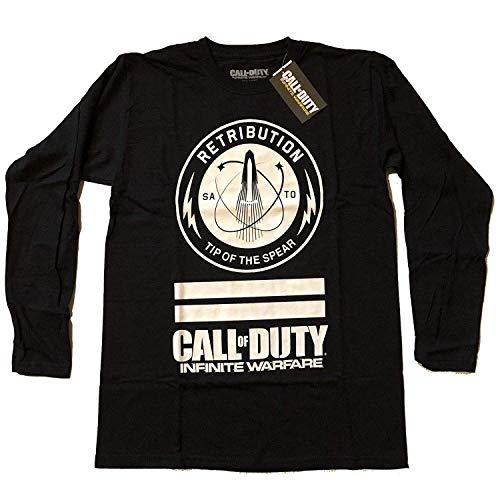 Call of Duty - Infinite Warfare Retribution - Offiziell Herren Langarm T-Shirt - Schwarz, XX-Large