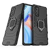 NOKOER Case for OPPO Reno 4 Pro 5G, 2 in 1 PC TPU Cover