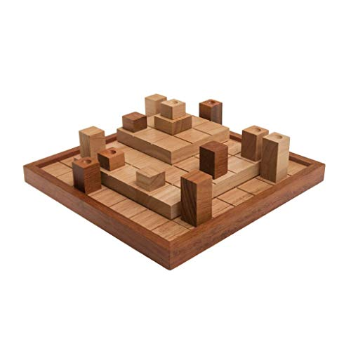 ROMBOL INDUKTO (Hartmut Kommerell, Deutschland, 2015), Gesellschaftsspiel für 2 Personen, Familienspiel, Brettspiel, Gesellschaftsspiel aus Holz