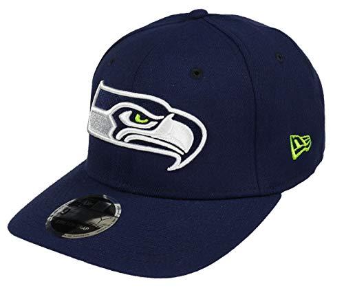 New Era Seattle Seahawks Cap Snapback Verstellbar 9fifty NFL Stretch In Blau - One-Size