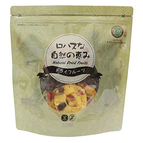 ドライフルーツ ミックス 無添加 ロハスな自然の恵み 7種 500g 砂糖不使用 日本ローフード協会推奨 非遺伝子組み換え