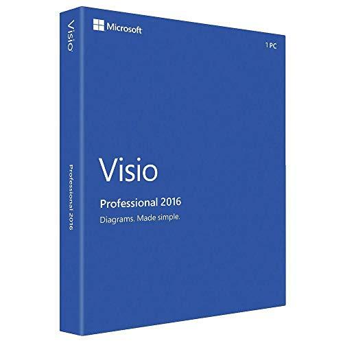 Microsoft Visio 2016 Professionnel Licence1 PC