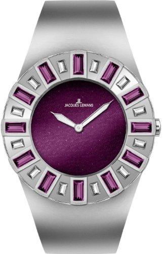Jacques Lemans La Passion Damen-Armbanduhr Cannes Analog Edelstahl 1-1585N