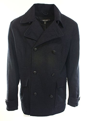 Kenneth Cole Reaction Navy Pea Coat