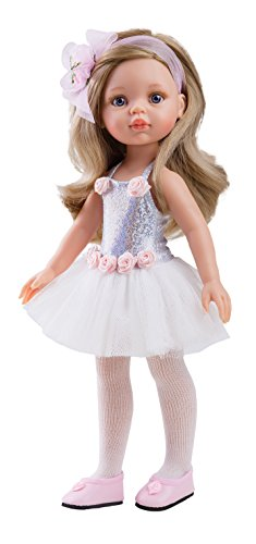 Paola Reina (PAOLJ) 04447 Paola Reina Carla Bailarina Puppe, 32 cm, Mehrfarbig