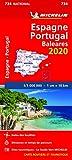 Carte Michelin Espagne, Portugal 2020