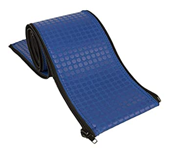 Rail Runners Blue In-ground Swimming Pool Ladder & Handrail Cover | 8-Ft-by-1.9-Inches Diameter Piece | Slip Resistant Grip | Keeps Railings Cool in The Sun | Durable Nylon Material