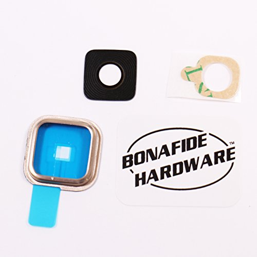 Bonafide Hardware - Replacement Part for Samsung Galaxy S5 Camera Glass Lens (Gold)