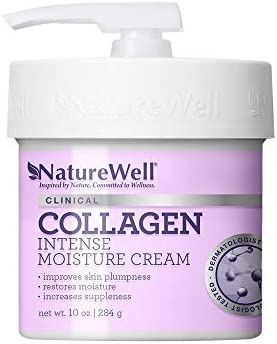 NATUREWELL Collagen Intense Moisturizing Cream for Face and Body 10 Oz product image
