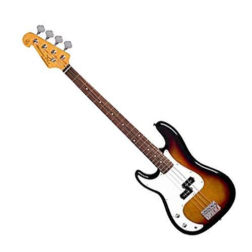 SX Bassgitarre für elektrische Bassgitarre, präziser Stil in Sunburst, linke Hand