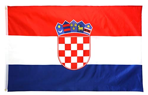 Star Cluster 90 x 150 cm Kroatien Flagge/Kroatien Fahne/Fanartikel/National Flag of Republic of Croatia/Hrvatske Zastava (HRV 90 x 150 cm)