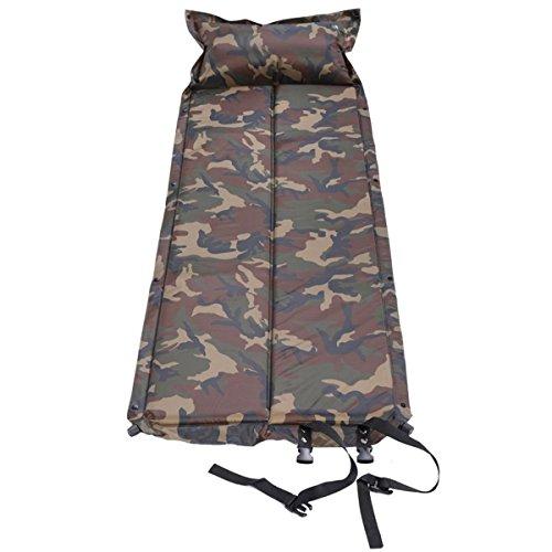 Qisan - Alfombrilla de Camping autoinflable para Dormir o Dormir portátil en Camping, Senderismo y Actividades al Aire Libre