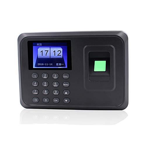 Máquina biométrica inteligente de asistencia de contraseña de huellas dactilares Empleado de registro de nómina Registrador Pantalla de 2,4 pulgadas TFT LCD