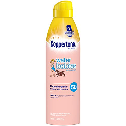 Coppertone Waterbabies Spf #50 Quick Cover Spray Lotion 180 ml (Sonnenlotion)