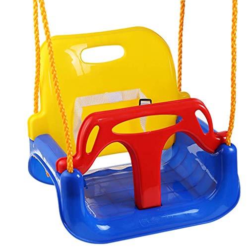 Asiento de Columpio Juguetes para niños Columpio para niños Interior y Exterior Hogar Columpio de Columpio de bebé Tres en uno Silla Colgante para Exterior Columpio de bebé Silla de Columpio