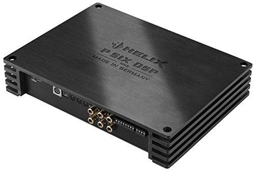 Helix P SIX DSP MKII - Ultra Class D 6-Kanal Verstärker 6 x 120WRMS mit integriertem 8-Kanal DSP-Signalprozessor