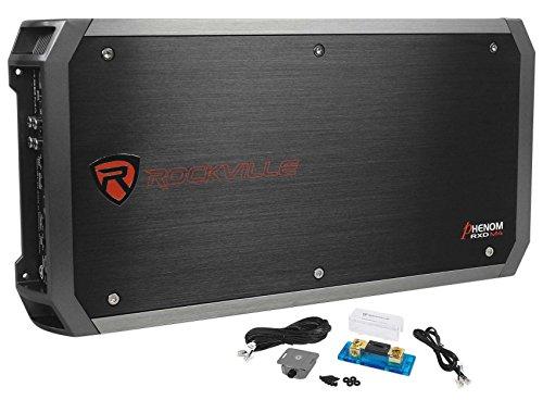 Rockville RXD-M4 6000 Watt/3000w RMS Mono Class D 1 Ohm Amplifier Car Stereo Amp