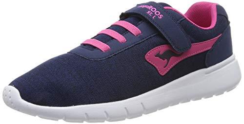 KangaROOS Unisex-Erwachsene K-Gard EV Sneaker, Blau (Dk Navy/Daisy Pink 4204), 39 EU
