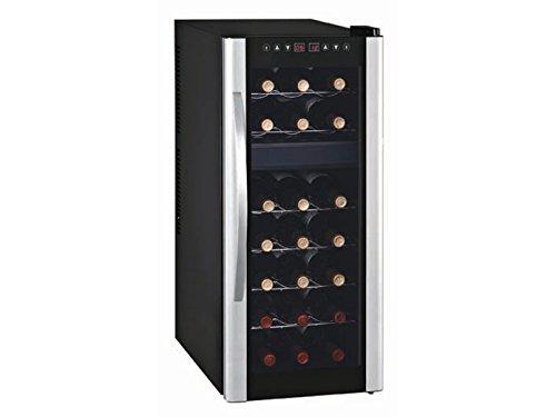 Profi Weinkühlschrank für 21 Flaschen, 2 Temperaturzonen, 7-18° C und 11-18° C, WS-21T GGG