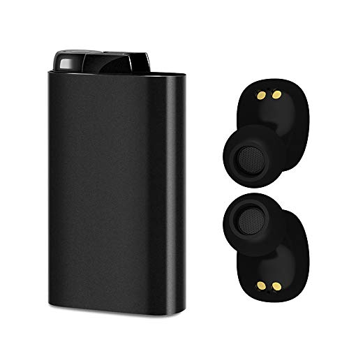 OBEST Bluetooth 5.0 完全ワイヤレスイヤホン Hi-Fi高音質/72時間音楽再生/自動ペアリング/Siri対応/1800mAh充電式収納ケース付き スポーツイヤホン