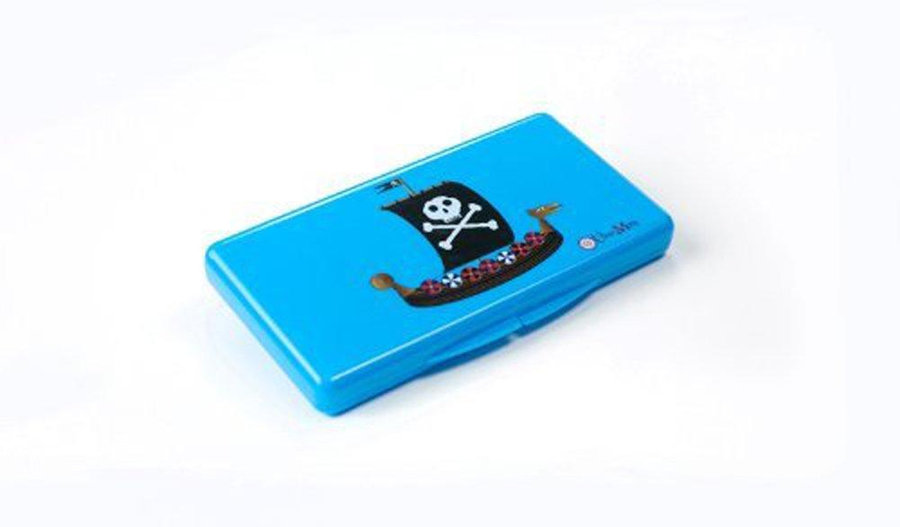 Uber Mom Wipebox, Blue Pirate Ship