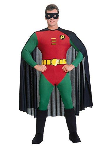 Robin-Costume Batman per uomo, taglia M, r15549-s