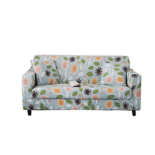 GladiolusA Stretch Bedruckt Sofa Couch Bezüge Sofa Schonbezug Sofaüberwurf Elastische Sofahusse Universal Passform Sessel Loveseat Möbelschutz Stil 32 2 Sitzer für Sofalänge 145-185cm