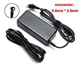 19V 3.42A 65W AC Adapter Charger Replacement for Toshiba Satellite C55 C55D C655 C70 C855 C850 L655 L755 L745 S55; Toshiba Portege Z30 Z830 Z930; Satellite Radius 11 14 15 Laptop Power Supply Cord