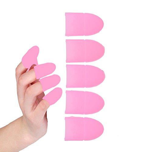 sevenmye 5x Finger Tipps Schützen Nägel von Solarium/UV-Strahlen
