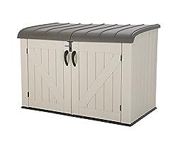 Wetterfeste Allzweck Aufbewahrungsbox mit Kunststoff Deckel