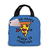 Lunch Bag, Pizza is Forever Reoteable Tote Bolso portátil Bento Box, comida caliente y fresca