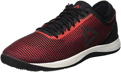 Reebok Herren R Crossfit Nano 8.0 Fitnessschuhe, Schwarz (Black/Primal Red/Cranberry Red/Chalk Black/Primal Red/Cranberry Red/Chalk), 46 EU