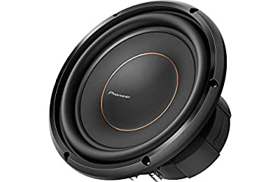 """Pioneer TS-Z10LS4   25cm / 10"""" Z-Series Shallow Subwoofer (1300 W) 4 Ohm Single Voice Coil from Pioneer"""