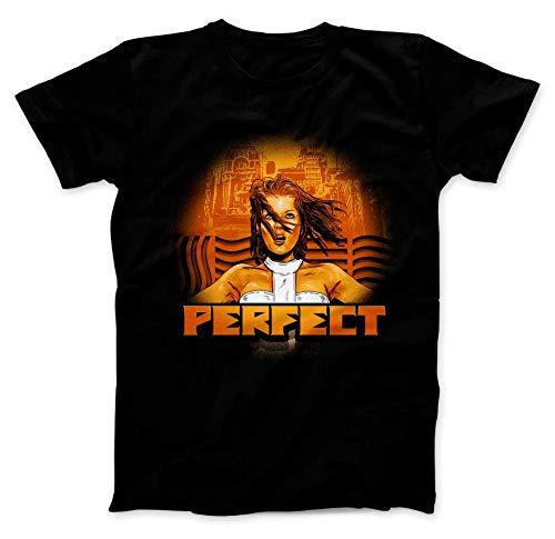 Fifth Element Movie Scifi Men's Milla Jovovich Black T-Shirt New